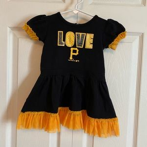 Pittsburgh PIRATES Dress with Diaper Cover